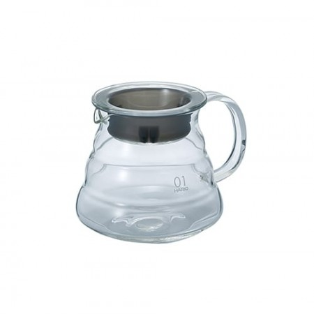 CARAFE SUPPORT EN VERRE POUR DRIPPER V60 (1-3 TASSES) - HARIO