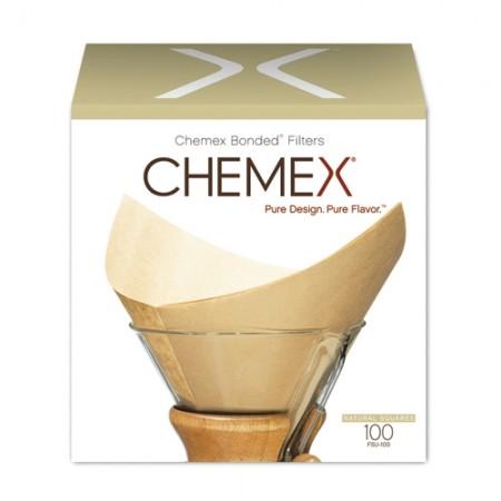 100 FILTRES POUR CHEMEX, (1-3 TASSES) - CHEMEX
