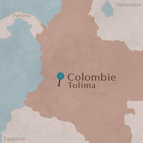 Région de Tolima en Colombie