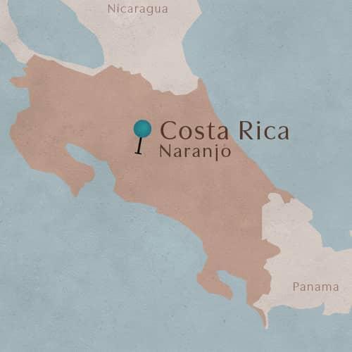 District de Naranjo au Costa Rica