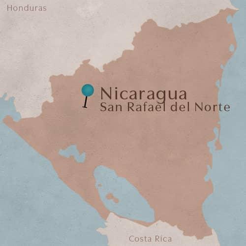 Ville de San Rafael del Norte situé au Nicaragua