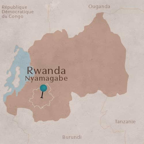 District de Nyamagabe, Province Sud, Rwanda