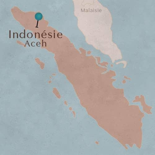Région Aceh en Indonésie