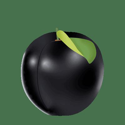 illustration d'une tablette de chocolat noir